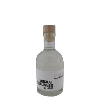 Muskattrollinger Brand 0,2 Liter Flasche