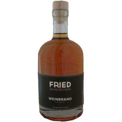 0,5 Liter Flasche Weinbrand