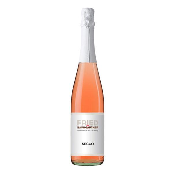 Perlwein Secco Rosé 0,75 Liter Flasche