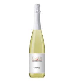 0,75 Liter Flasche Secco Weiß Perlwein