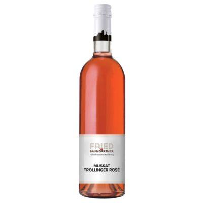 0,75l Flasche Muskattrollinger Rosé