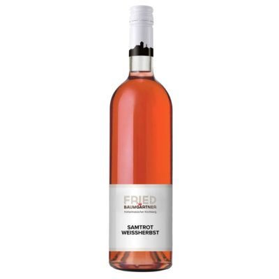 Hohenhaslacher Samtrot Weißherbst 0,75l Flasche
