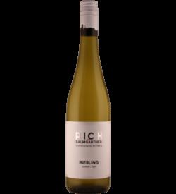 0,75 Liter Flasche Weißwein RICH Riesling trocken im Holzfass gereift