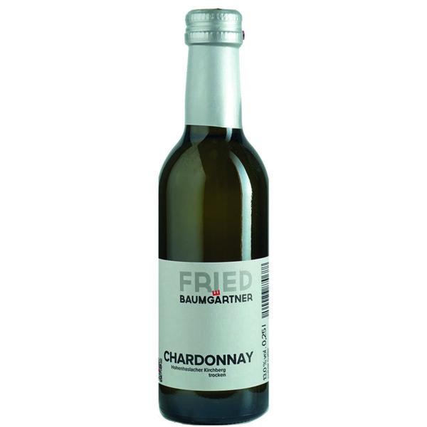 viertele Flasche Chardonnay trocken