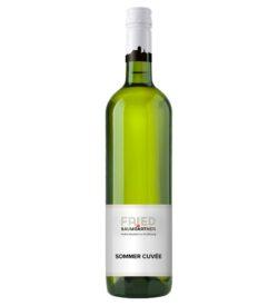 0,75 Liter Flasche Weißweincuvée