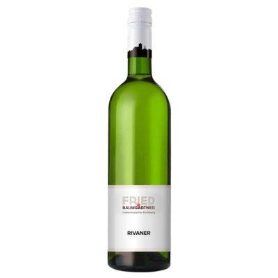0,75l Flasche Rivaner Weißwein