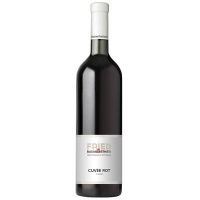 Rotwein 0,75 Liter Flasche Cuvée Rot
