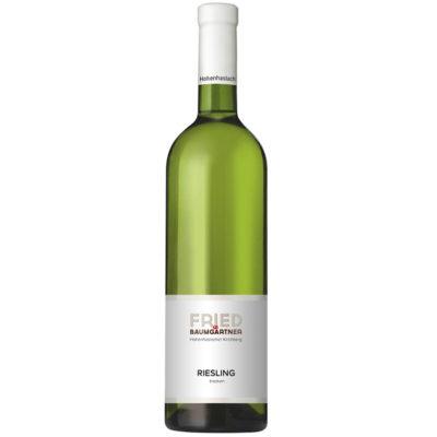 0,75l Flasche Weißwein Riesling trocken