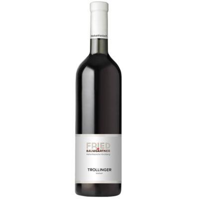 0,75l Flasche Trollinger trocken Rotwein