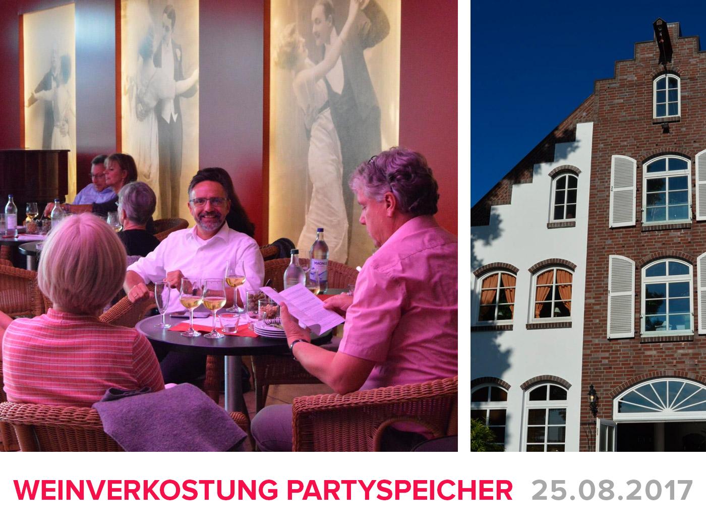 """Featured image for """"Weinverkostung im Partyspeicher"""""""