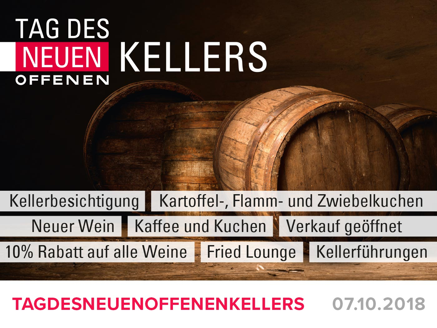 """Featured image for """"Tag des neuen offenen Kellers"""""""