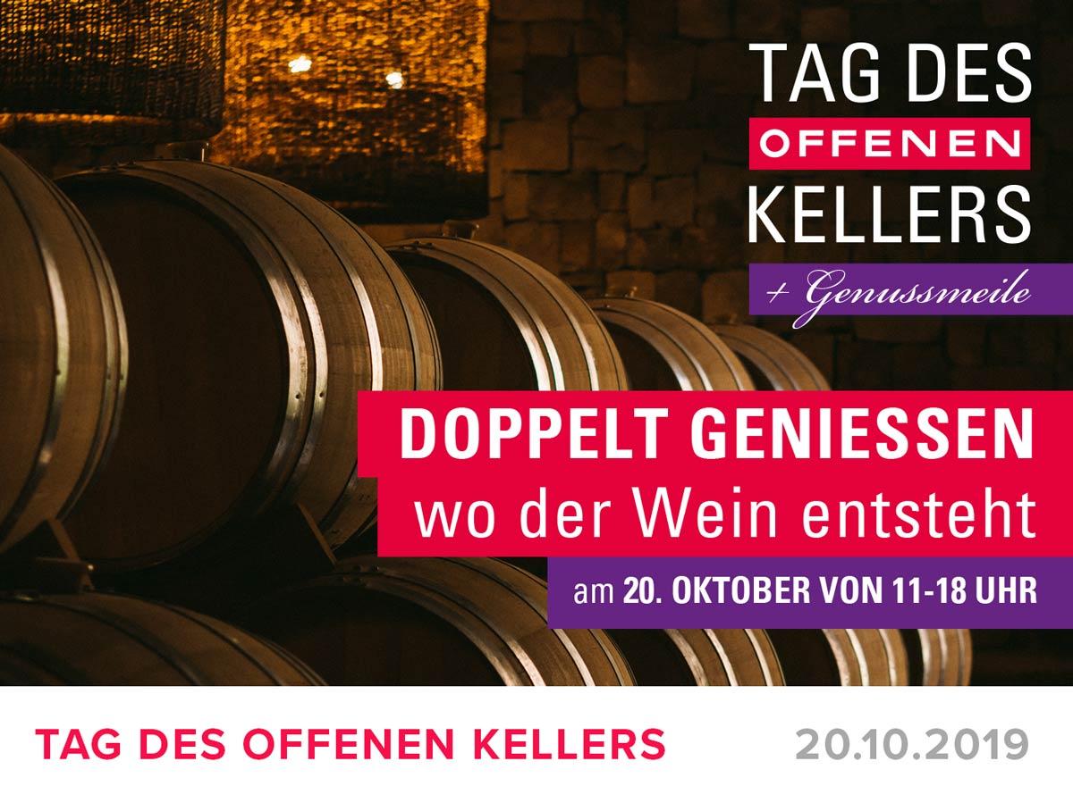 "Featured image for ""TAG DES OFFEN KELLERS + GENUSSMEILE – 20. Oktober 2019"""