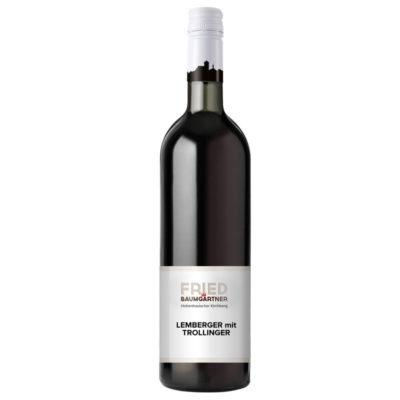 0,75 Liter Flasche Lemberger mit Trollinger, Rotwein