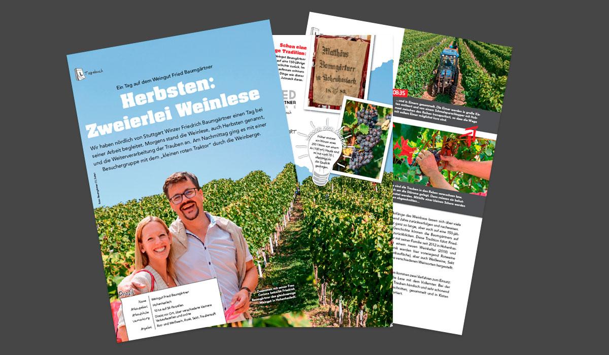 """Featured image for """"Was zum (Wein-)Lesen!"""""""