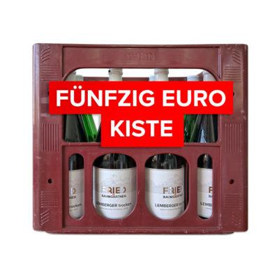 Fünfzig Euro Kiste Angebot