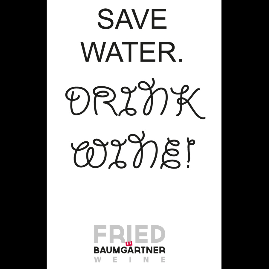 """Featured image for """"Postkarte Save water"""""""