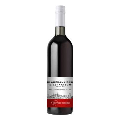 0,75l Flasche Rotwein Blaufränkisch Vernatsch
