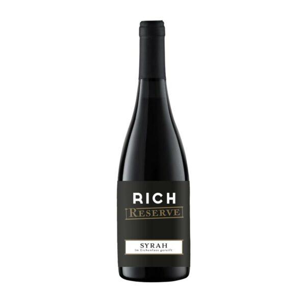 RICH Reserve Flasche 0,75l Rotwein Syrah