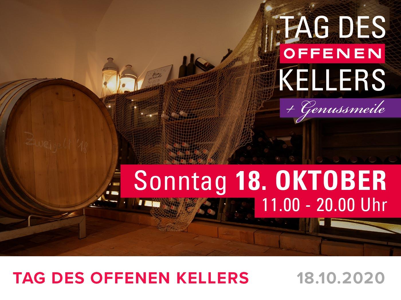 "Featured image for ""TAG DES OFFEN KELLERS + GENUSSMEILE – 18. Oktober 2020"""