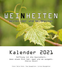 Kalendertitelblatt Weinheiten