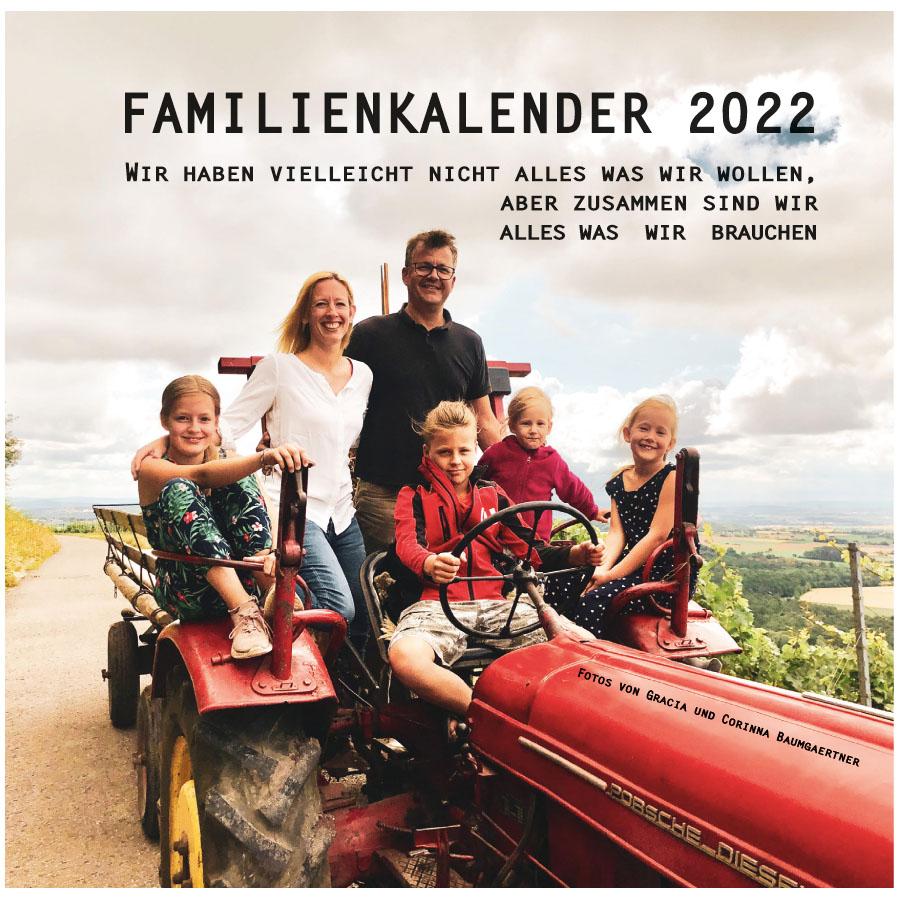 """Featured image for """"Tischkalender 2022 Familienleben"""""""