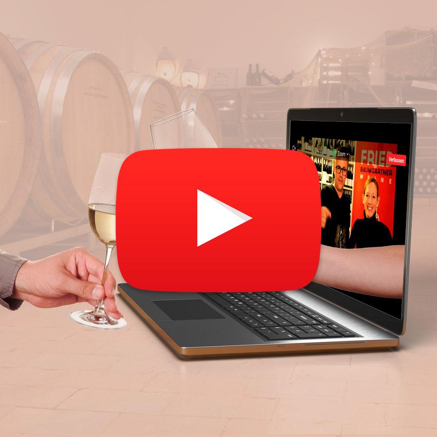 """Featured image for """"Online Weinproben auf YouTube"""""""